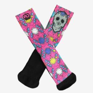calcetin crossfit calavera mexicana rd socks