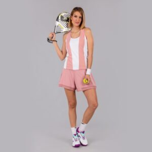 camiseta aurora de joma para padel tenis