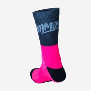 calcetin vamos rd socks rosa flavisport castro